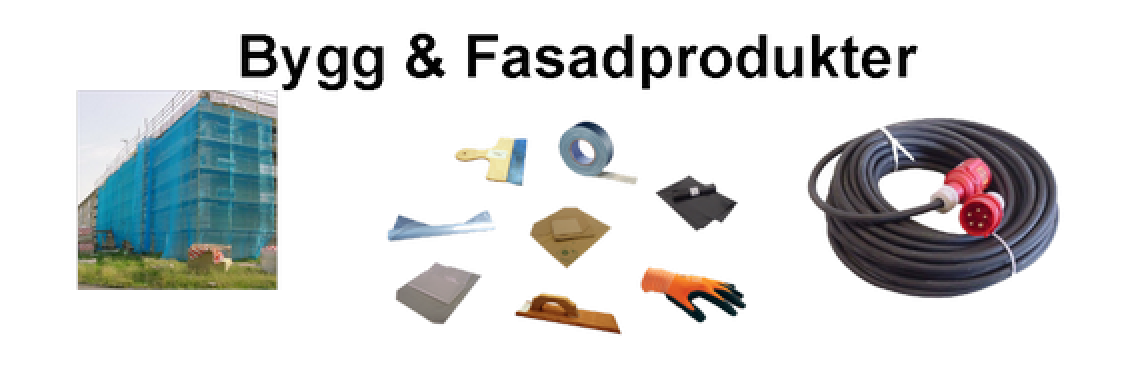 <h1>Bygg & Fasad produkter<h1>