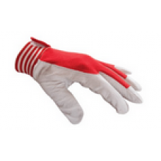 Handske Montage Stl 10 - Röd/Vit - BV