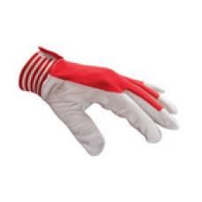 Handske Montage Stl 11 - Röd/Vit - BV