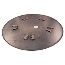 "Skurskiva LC 158 cm, 5 bl, 45°,  62"""