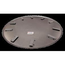 Skurskiva LC 120 cm, 5 bl, 45°, 46