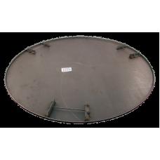 "Skurskiva LC 150 cm, 6 bl, 90°, 58"" ,4mm"